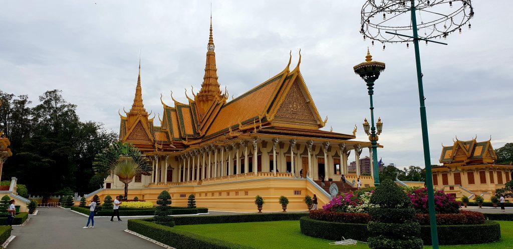 Königspalast in Phnom Phen