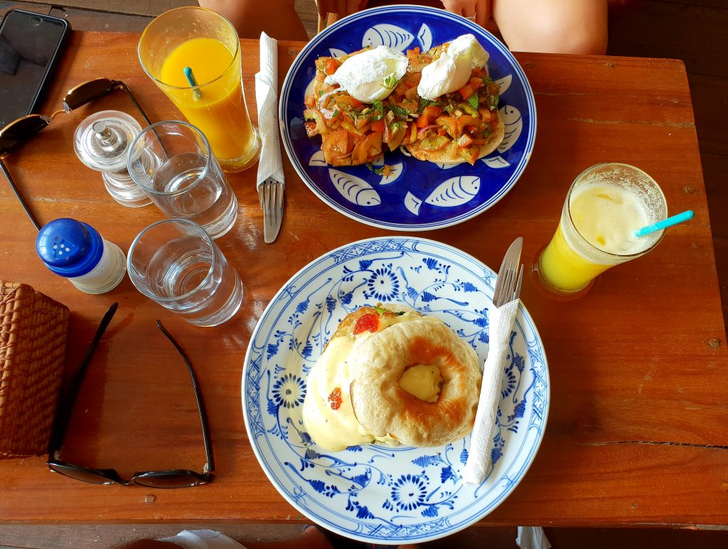 Super leckeres Frühstück im Epic Arts Cafe in Kampot