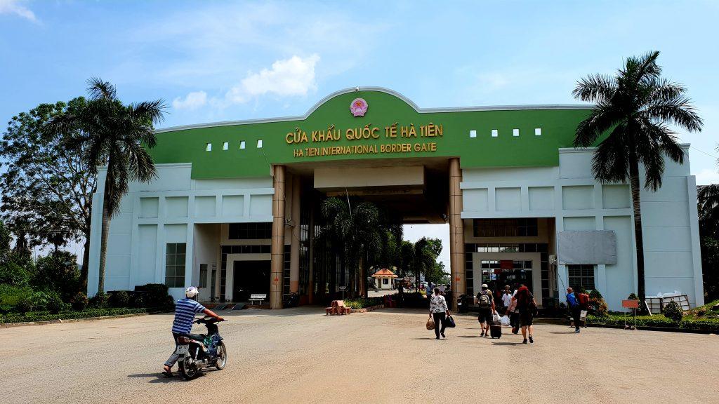 Grenzübergang nach Vietnam