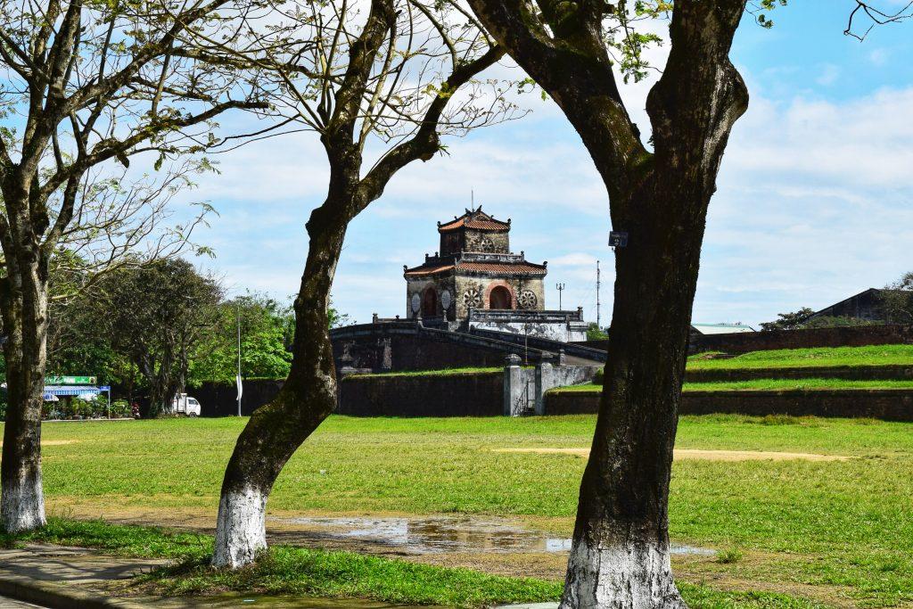 Ngan-Tor am Eingang zur Zitadelle