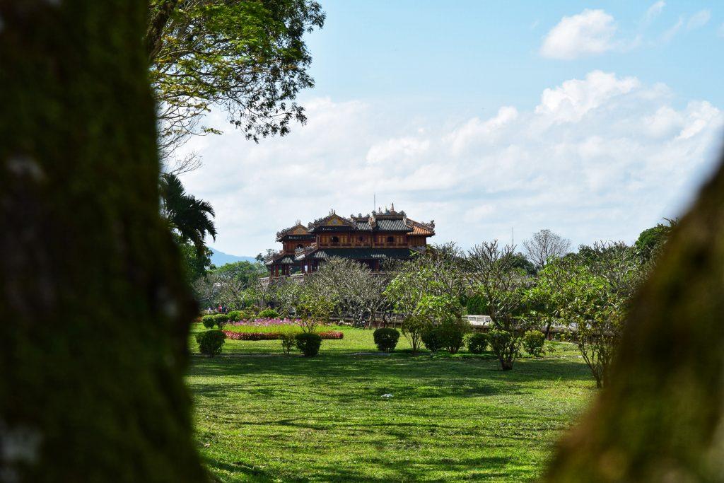 Ngo Mon-Tor und Pavillon der fünf Phönixe