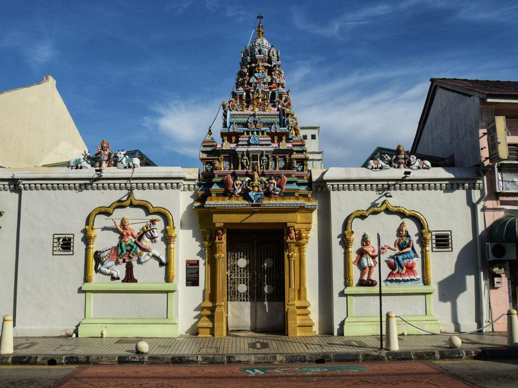 Hinduistischer Sri Mahamariamman Tempel in Georgetown