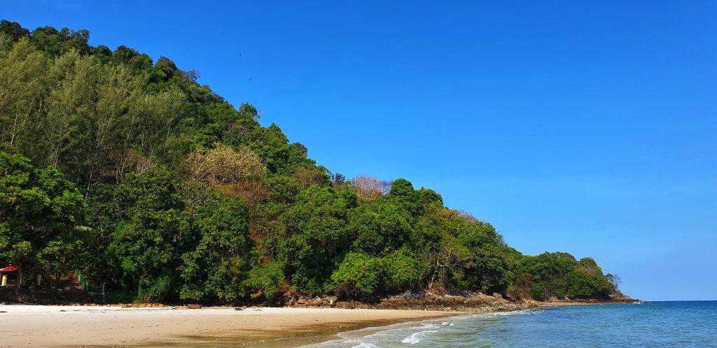 Pantai Pasir Tengkorak auf Langkawi